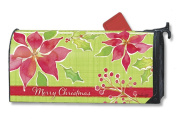 MailWraps Christmas Flower Mailbox Cover 03315
