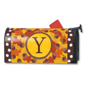 Magnet Works Mailbox Cover - Fall Follies Monogram Y
