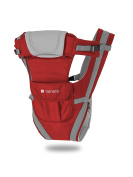 Lionelo Isa Baby Carrier, Red