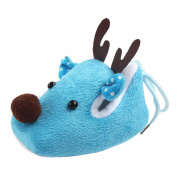 erthome Newborn Infant Baby Boy Girl Christmas Crib Shoes Soft Sole Anti-slip Sneakers Cotton