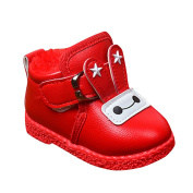LaoZan Toddler Baby Girls Shoes Faux Leather Shoes Walking Shoes