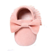 COFCO Baby Shoes, Baby Crib Tassels Bowknot Shoes Toddler Sneakers Casual Shoes (UK:1.5