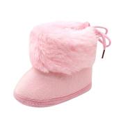 JoyJay Baby Soft Plush Boots, Fashion Unisex Baby Girls Boys Soft Booties Snow Boots Infant Toddler Newborn Winter Warm Shoes