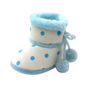 JoyJay Baby Winter Boots, Fashion Unisex Baby Girls Boys Soft Booties Snow Boots Infant Toddler Newborn Winter Warm Shoes