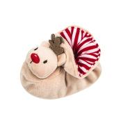 IGEMY Newborn Infant Baby Boy Girl Christmas Crib Shoes Soft Sole Anti-slip Sneakers