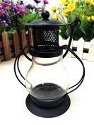 GFEI Iron / kerosene lamp windproof retro smokeless candle lamp / wedding birthday candle ornaments creative Home Furnishing