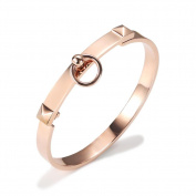 Fashion Plated 18k Rose Gold Bracelet, The Inner Circumference of About 17cm
