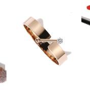 Rose Gold Bracelet, Fashion Titanium Steel Bracelet Girlfriend Birthday Gifts