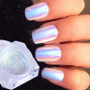 0.2g Neon Unicorn Crystal Nail Glitter Pigment Super Shine Mirror Sequins Nail Art Holographic Chrome Dust