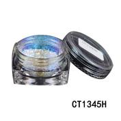 NXDWJ Chameleon Holo Mirror Nail Art Glitter Powder Chrome Pigment Decor Born Pretty Nail Powder