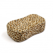sourcingmap® Soft Sponge Leopard Print Professional Manicure Nail Art Salon Hand Arm Wrist Rest Cushion Pillow Pad