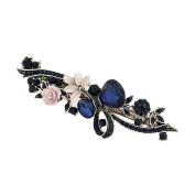 Vintage Hair Jewellery, niceEshop(TM) Rhinestone Hair Clips Barrette Flower Butterfly Style Spring Hair Clip Claw for Women Girls