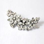 Multiware Women Bridal Wedding Flower Diamante Crystal Rhinestones Hair Clip Clamp Wedding Hair Accessories