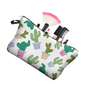 beiguoxia Cartoon Cactus Makeup Cosmetic Storage Bag Stationery Organiser Pouch Case