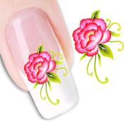 Pu Ran Fashion Flower Pattern Nail Art Decal Self-Adhesive Sticker Nail Manicure Decor - 24#