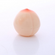 Sylvia QEr Kiwi Flavour Lip Balm Set of 2 Peach Shape Lasting Moisturising Natural and Comfortable Lips Care Products