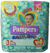 Pampers Baby Dry Midi PZ.21