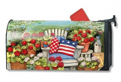 Patriotic Pillows Large MailWraps Magnetic Mailbox Cover #21291
