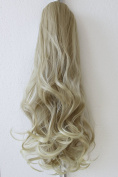 PRETTYSHOP 60cm Hair Piece Pony Tail Extension Very Long & Voluminous Curled Wavy Heat-Resisting H42