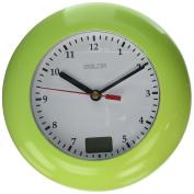 BALDR Waterproof Analogue Bathroom Clock, Yellow