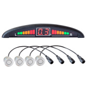 Vega R4S Parking Assist System with Colour Display and Built-in Beeper, with 4 Sensors in Assorted Colours & Designs