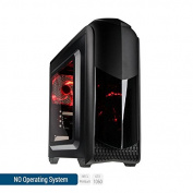 Sedatech Expert Gaming PC Intel Pentium G4560 2x 3.50Ghz, Geforce GTX1060 3Gb, 16Gb RAM DDR4 2133Mhz, 2Tb HDD, USB 3.0, HDMI2.0, 4K resolution, DirectX 12, 80+ PSU. Desktop Computer without OS