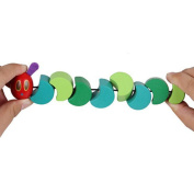 Pinkcream Colourful Wooden Hungry Twist Caterpillar Baby Children Gift