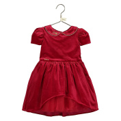 Disney Boutique Baby Collection Snow White Red Velvet & Tulle Disney Party Dress & Headband