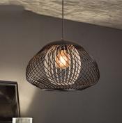 PIGE Nordic Retro Bar Loft Creative Personality Bedroom Mesh Restaurant Lamp Simple Iron Industrial Chandeliers
