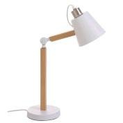 Desk Lamp Nordic White 23X18X47 Cm.
