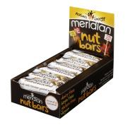 18 x Meridian Peanut & Coconut Bar 40 g Peanut - Coconut