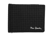 Mini wallet man PIERRE CARDIN black with underwire banknotes holder