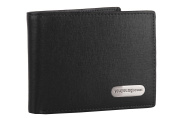 Wallet man YY COVERI black with credit card holder and cheques holder