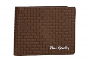 Wallet man PIERRE CARDIN brown in leather with flap and coin purse VA799
