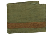 Wallet man ANTONIO BASILE with coin purse and lateral flap brown