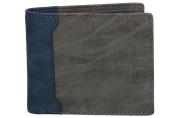 Mini wallet man ANTONIO BASILE credit card holder coin purse blue