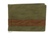 Mini wallet man ANTONIO BASILE underwire banknotes holder browns