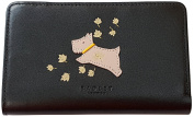 RADLEY 'Autumn Days' Black Leather Medium Zip Purse Wallet - RRP £65.00