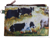 Border Collie Group Breed of Dog Zipper Lined Purse Pouch Perfect Gift
