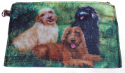 Cockapoo Group Breed of Dog Zipper Lined Purse Pouch Perfect Gift