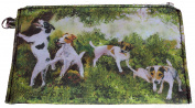 Jack Russell Terrier Breed of Dog Zipper Lined Purse Pouch Perfect Gift