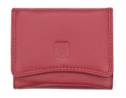 Valentino Ladies Small compact Red Leather Pouch style Purse With RFID Protection
