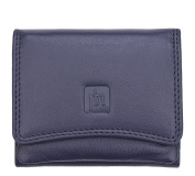 Valentino Ladies Small compact Purple Leather Pouch style Purse With RFID Ptotection