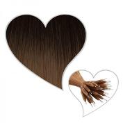 Nano Ring Hair Extensions 45 cm Blend 25 # 02/10