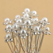 Dooppa 40PCS U Shape Hair Pins for Party Prom Wedding Bridal Bridesmaid