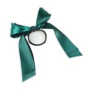 Sansee Beauty Headwear Cute Ribbon Rope Hair Ties Bow Elastic Hair Band Women Girl Ponytail Holder Hair Accessories