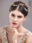 Handcess Rhinestones Headband Wedding Hair Vine Bridal Hair Jewellery for Bride and Bridesmaid