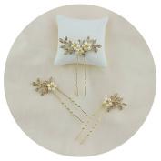 TOPQUEEN Wedding Hairpiece Hairband Hair Comb Accessory Bridal Pearl Hair Vine Ribbon Headband