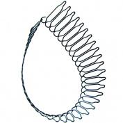 Fostly U Shaped Flexible Metal Hoop Headband Hair Band Head Band Accessory For Fashion Women Girl