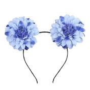 iTemer Flower Rose Headband Headwear Party Fancy Dress Costume Accessories